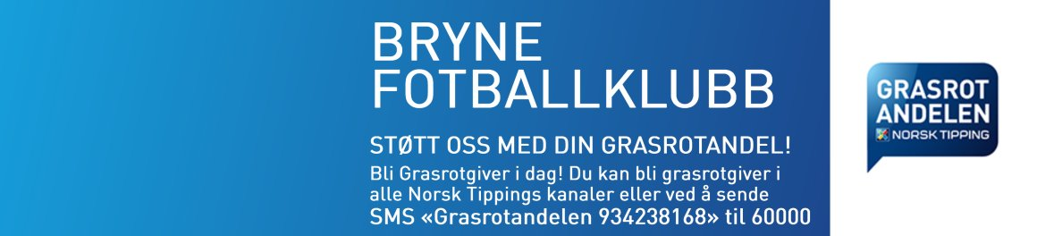 Støtt Bryne FK med grasrotandelen