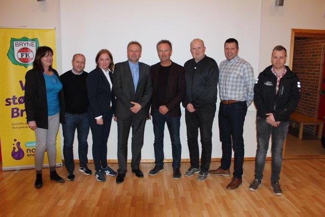 F.v; Trude Gustavsen, Bjørn Reiten, Eli Ulveseter, Øyvind Hegelstad (nestleder), Nils Steinsland (leder), Leif Ingvar Undheim, Hans Olav Frette og Leif-Tore Mellemstrand.